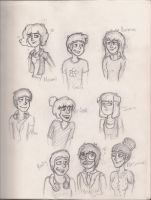 Amazing World of Gumball Characters Human Pt2 by SilverShadowJynx