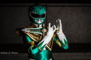 MMPR Green Ranger: The Power of The Dagger by effektdmentality