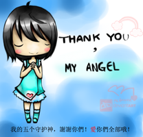 Thank You,My Angel -ID by mcdmouse