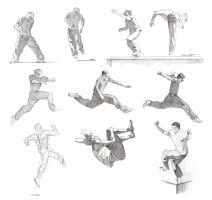 Parkour Studies by colleenquint