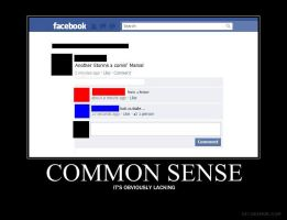 Common Sense:Obviously Lacking by Coocoosim