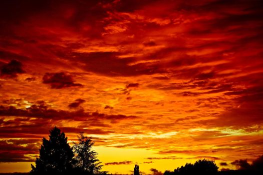 The day the sky burned by shkaro