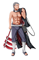 Hidan by Gingersnap87