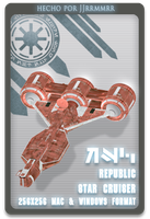 Republic cruiser by jjrrmmrr