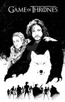Jon Snow by BESTrrr