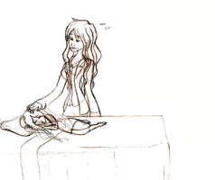 Sketch - Something Unconditional by sweeneykitkat