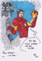 Iron Man Tony Stark colors by guillomcool