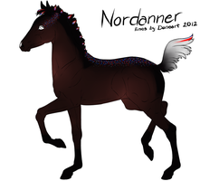 2480 Nordanner Foal Design by TheThievingMagpie