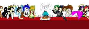 The Last Supper At My Place by SedatedRabbit
