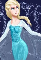 Elsa from Frozen by terronsitodasucar