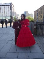 MCM Expo: Beej and Lydia by LabyrinthLadyLover