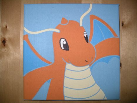 Dragonite Stencil by Emper24