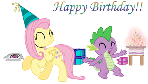 Birthday party by Fluttershy626