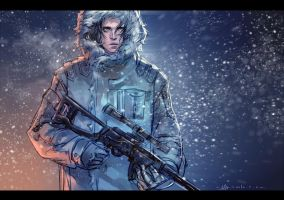the winter soldier by LiuYuChi