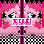 No Doubt / Busy Signal - Push and Shove (Pinkie) by AdrianImpalaMata