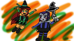 Witchtastic Halloween by nightglider124