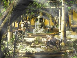 Keepers of the Sacred Pool by kageryu