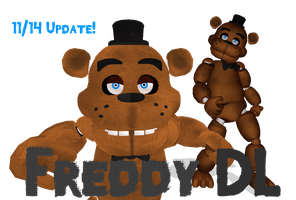 MMD Freddy FNAF [DL] by roze11san