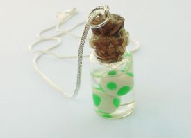 Yoshi Eggs Bottle Charm by naga-kkw87