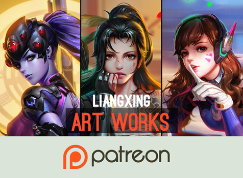 My Patreon by Liang-Xing