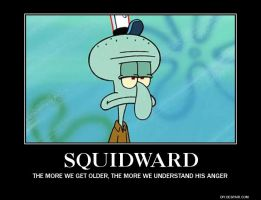 Squidward by AlphaMoxley95