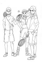 Tennis Anyone? by Roggles