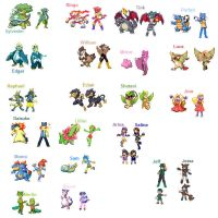 Pokemon sprites 3 by darkKitsuneoflight