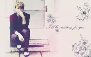 I'll be waiting by The-world-of-Minda
