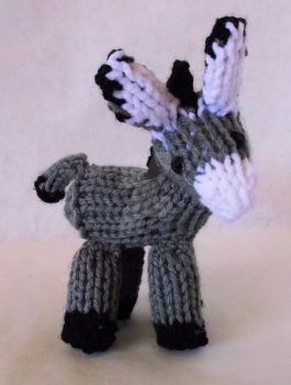 Loom Knitted Donkey by ScarlettRoyale