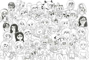 1000+ Watchers Special! by MarkProductions