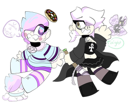Pastel and Goth by gALECsy