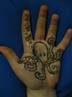 Octopus by speckelfreckle