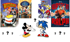 Secrets About Mickey and Sonic by ClariceElizabeth