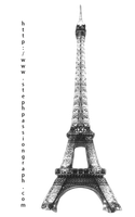 Eiffel tower brushes by stephpassiongraph