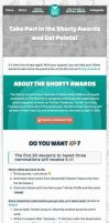 Shorty Awards Journal Skin by LabLayers
