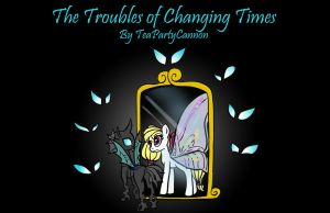 The Troubles of Changing Times Cover Art by lhs1014