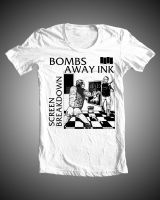 Bombs Away Ink 'Screen Breakdown' Shirt by kidswithscissors