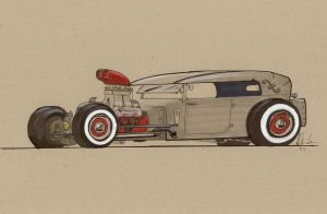 Rat Rod Tunnelram by Jepray