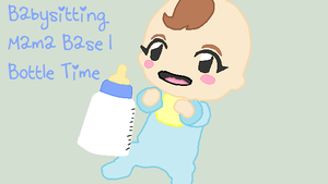 Babysitting Mama Base 1 - Bottle Tiem :D by EpiclyAwesomePrussia