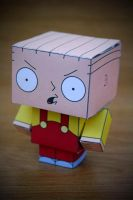 CubeCraft Stewie Griffin by digital-uncool
