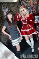 ToyCon 2009: Alodia x Ashley by iela-toys