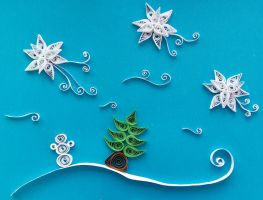 Quilling - Winter Time by Sszymon14