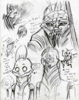 D9: Christopher Sketches by theREDspy