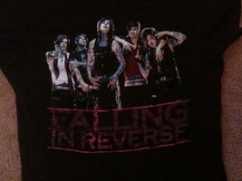 Falling In Reverse Shirt :D by Armywolfgirl043