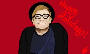 Happy Holidays from Patrick Stump and me! by Using0nlycaps