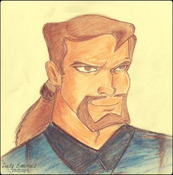 David Xanatos with a new plan by GreenLadyEmerald