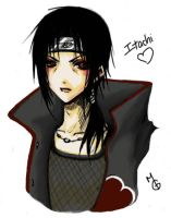 Itachi - photoshop by ProdigyBombay