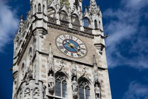 Munich Town Hall Clock by maaanuel