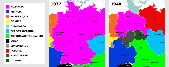 Reduction of Germany, expansion of its neighbors by matritum