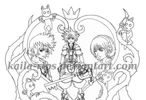 Proyecto kingdom hearts (lineal) by Kaila-Rips